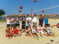 stage de volley planete vacances