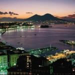 La baie de Naples, Italie