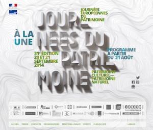 Affiche de la Journée Européénne du Patrimoine 2014
